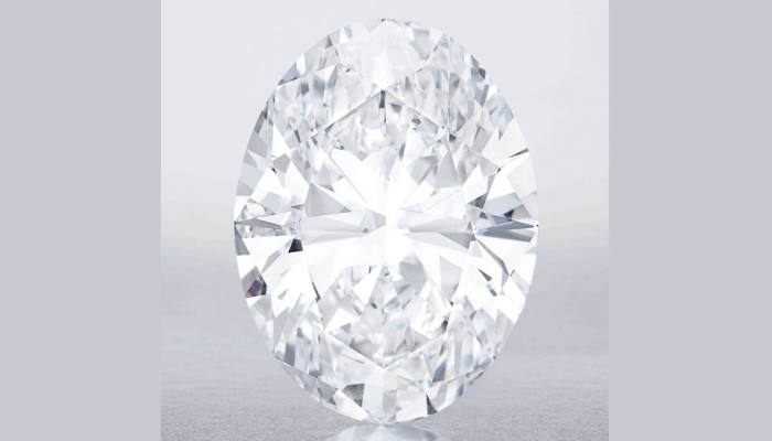 118 carat white diamond