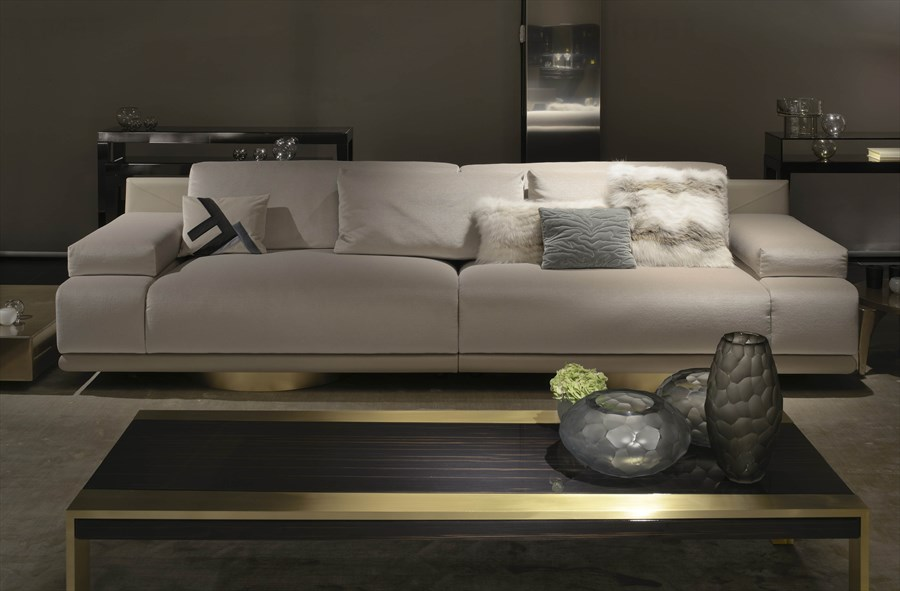 FF Artù 4 seater sofa_Ginevra coffee table 1