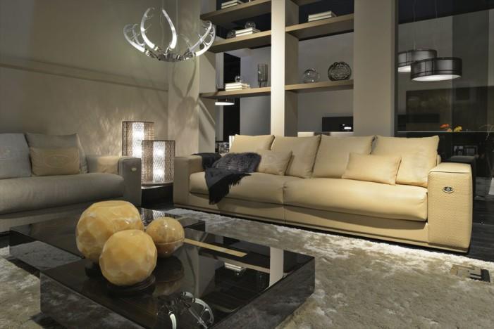 FF Trevi 4 seater sofa_Quadrum Onix coffee tables_Polaris table lamps