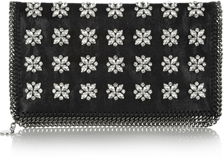 stella-mccartney-black-the-falabella-crystalembellished-faux-leather-clutch