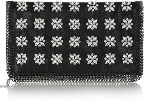 stella-mccartney-black-the-falabella-crystalembellished-faux-leather-clutch