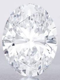 118 carat white diamond