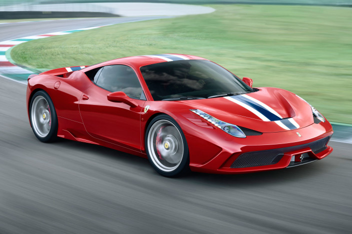 Ferrari-458-Speciale-right-side-on-the-track