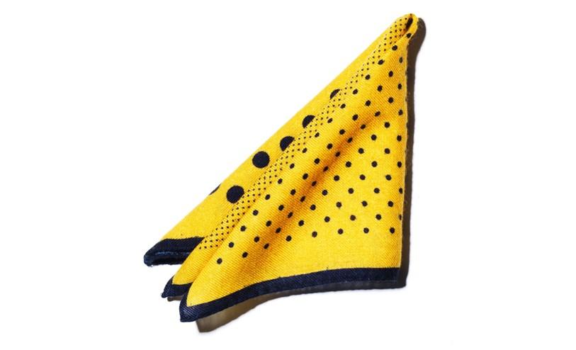 Mustard pocket square