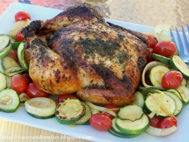 roast chicken en best text