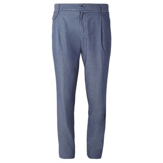 Dolce & Gabbana chambray suit trousers£315