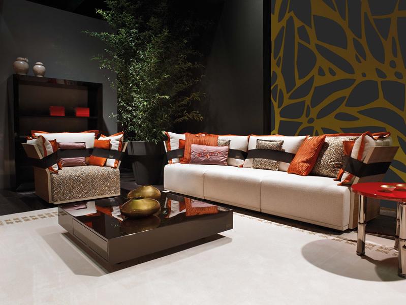 KK-Riscio-sectional-sofa-armchair-&-Sake-coffee-table