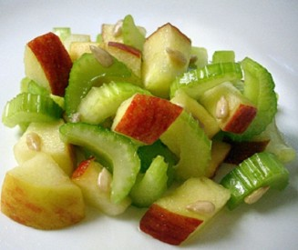 apple and celery