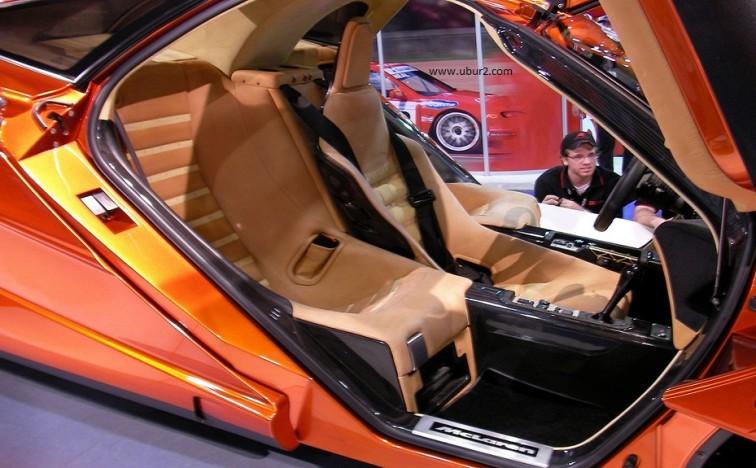 2014 McLaren P1-Interior