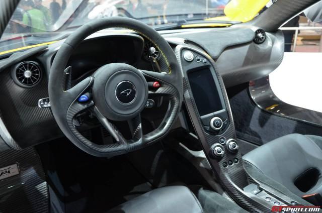 2014 mcclaren p1 interior