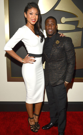 eniko and kevin at the grammys 2014