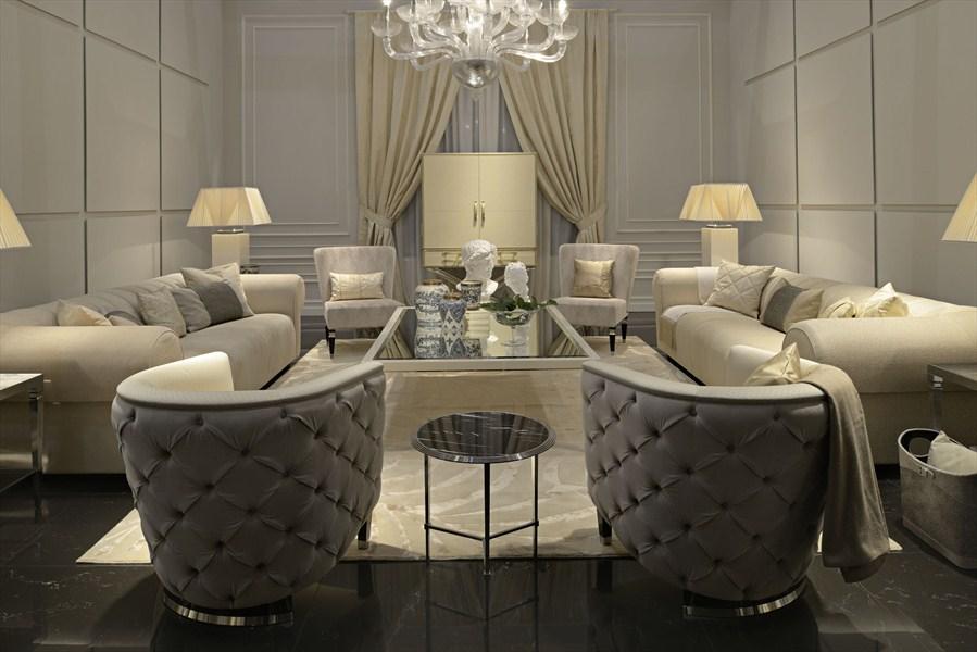 HH Saint Germain 3 and 4 seater sofa_Vienna armchairs