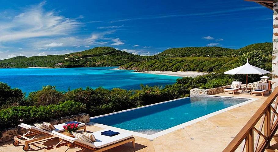 canoun island st vincent beach house